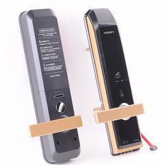 嗨万家卫智能门锁H-5200SK指纹锁密码锁家用防盗门锁电子锁门把手旋转开门