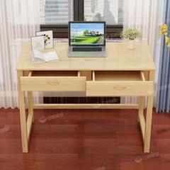 实木简约写字桌书桌电脑桌学生写字桌儿童学习桌家用台式办公桌