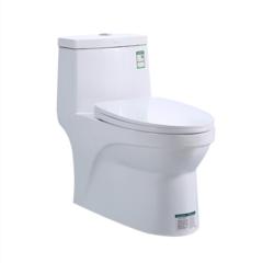 恒洁卫浴节水马桶虹吸式抽水连体坐便器HC01272PT防堵卫生间坐厕