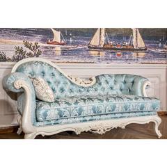 尚多白蜡木贵妃床(坐垫布)GF7601