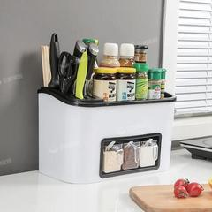 厨房置物架刀架调味瓶调料架子多功能神器用品家用大全筷子收纳盒