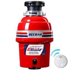 贝克巴斯E60家用厨房食物垃圾处理器水槽厨余粉碎机无线开关款
