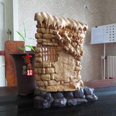 黄杨木雕 喜鹊登门 名家手工雕刻 客厅书房大摆件 收藏 送礼 佳品