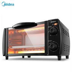 美的(Midea) T1-108B 10L 电烤箱 家用多功能 烘焙小烤箱
