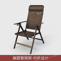 藤编躺椅折叠午休椅睡椅藤椅家用阳台休闲靠背椅子午睡便携凉靠椅