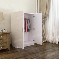 简易衣柜现代简约经济型实木板式卧室出租房用小户型收纳家用柜子