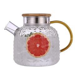 冷水壶玻璃水壶大容量凉水杯耐高温凉杯开水壶茶壶家用套装凉水壶