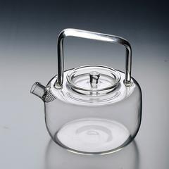 耐热玻璃方把提梁壶 烧水沸水壶 煮茶器 花茶壶 电陶炉明火加热