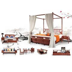 生态家  红木家具 现代新中式 16件套 N