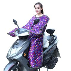 电动车挡风被自行车摩托车电瓶车防风挡风罩冬季加绒加厚防雨保暖