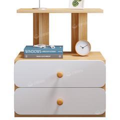 床头柜置物架家用小型储物柜边柜卧室简约现代斗柜床边收纳小柜子