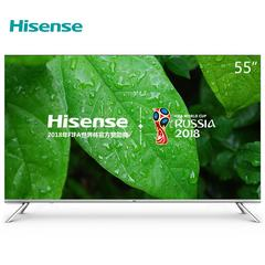 海信(Hisense) 4K超高清超薄 ULED智能液晶电视 55英寸 LED55NU7700U