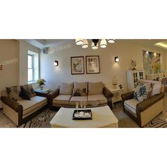 (超级秒杀)布艺沙发北欧简约现代客厅沙发组合套装 自提免运费