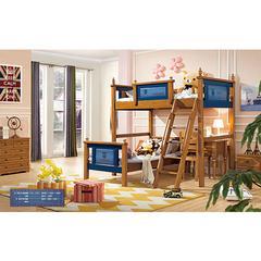 QFYJ上下儿童床 搭配书桌椅款A8016#