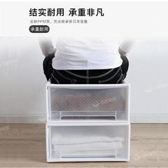 抽屉式收纳箱塑料衣物收纳神器家用透明衣柜内衣收纳盒衣服整理箱