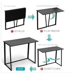 台式桌家用可折叠笔记本电脑桌免安装办公桌书桌