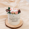 森系玻璃罩精油ins 少女家用香薰蜡烛礼盒生日教师节礼物实用手工