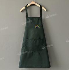 家用围裙女厨房防水防油网红韩版可爱夏季薄款时尚工作服