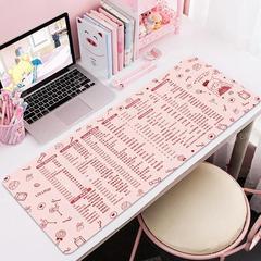 ps办公快捷键办公室大全鼠标垫超大号电脑可爱桌面书桌垫excel