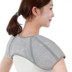 护肩保暖睡觉护肩膀坎肩套男女士月子护肩周炎中老年人神器秋冬季