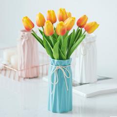小清新陶瓷花瓶现代简约客厅花插花瓶假花干花花器家居装饰品摆件