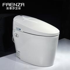 法恩莎卫浴  自动智能马桶一体式坐便即热无水箱遥控座便器 FB16105-B