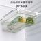 鸡蛋收纳盒抽屉式水果蔬菜保鲜盒悬挂放鸡蛋托神器家用冰箱置物架