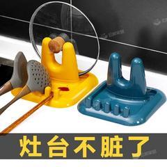 创意锅盖架放锅铲汤勺收纳架家居神器厨房台面置物架用品用具大全