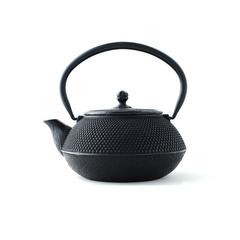 岩铸 Iwachu 铁壶  日本铁质锡茶壶(黑色)  南部铁器 原装进口铸铁壶