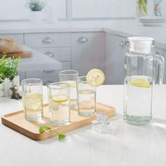 八角水具水杯八角壶水具冷水壶套装5件套