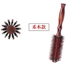 卷发梳子女男士卷梳子吹造型梳内扣家用发廊理发店专用滚筒圆滚梳