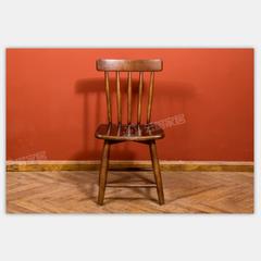 舒美板木结合餐椅 N6002