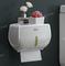 卫生间纸巾盒厕所卫生纸置物架厕纸盒免打孔防水卷纸筒创意抽纸盒