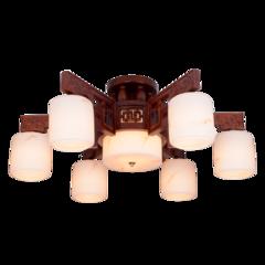 超班中式木艺  中式吸顶灯