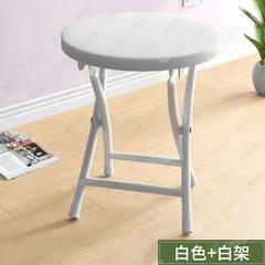 折叠凳子家用餐椅凳子靠背椅培训椅学生宿舍椅简约出租屋折叠圆凳