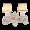 爱尚田园  田园乡村铁艺陶瓷手工吊灯  优雅大气精致灯具客厅卧室