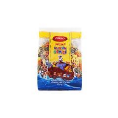 原装进口意大利面安卡拉儿童面食蔬菜三色动物意面袋装/350g