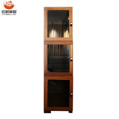 新悦单玻璃门挂柜 三柜组合装 D666-01  D666-03