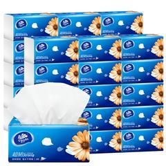 维达抽纸面巾纸3层110抽家用实惠装可湿水 S码