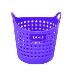迷你桌面收纳篮(紫色)