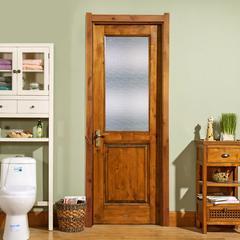 力天木门  北美简约室内门卧室门纯实木环保书房客厅门 套装门定制 KA-2S-R