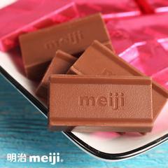 日本明治meiji至尊钢琴草莓巧克力休闲零食小吃46g/盒(草莓)