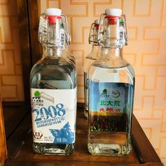 北大荒1947东北黑龙江特产白方瓶2008纯粮酒浓香42非60度