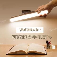 阅读台灯宿舍学习专用灯学生写字床头护眼桌充电插电式两用台灯