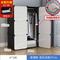 简易衣柜实木双人推拉门出租房钢管加粗加固组装衣橱卧室家具柜子