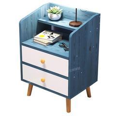 简易床头柜简约现代卧室床边小柜子储物柜北欧小型床头收纳置物架