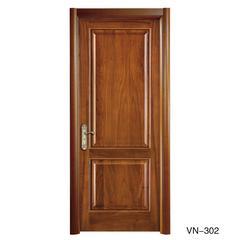 威纳木门 实木复合木门卧室门 黑胡桃A VN-302 VN-302B