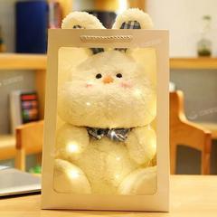 网红可爱哈格小兔子公仔猪猪毛绒玩具小熊玩偶布娃娃生日女生礼物