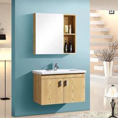 法恩莎 木纹色浴室柜 FPGD3616F