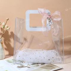 生日礼物盒礼品盒闺蜜伴娘伴手礼手提袋网红透明礼品袋高档礼袋